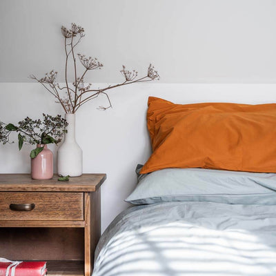 Cotton Percale Pillowcases Amber