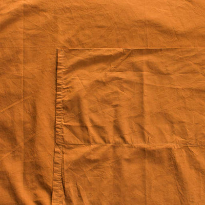 Luxury Cotton Percale Sheet Set Amber