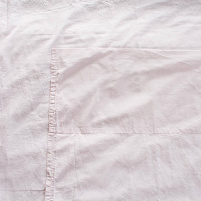 Cotton Percale Sheet Set Wildflower Pink