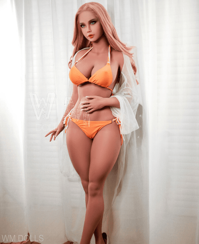 Image of Peach 156 cm (5ft) H-Cup
