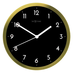 Arabic Wall Clock - Black