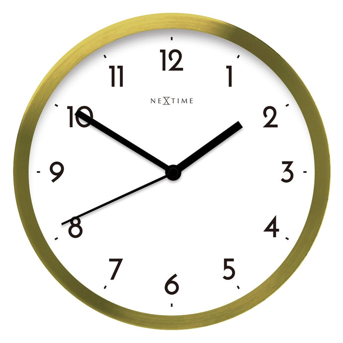 Arabic Wall Clock - White