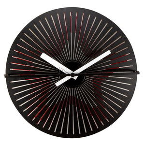 Silent Motion Wall Clock - Star