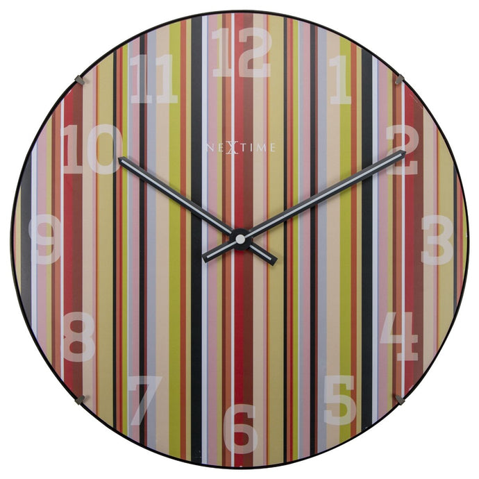 NeXtime Colorful Smithy Dome - Round Clock