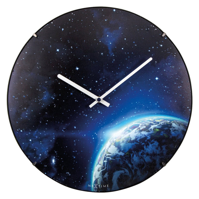 Globe Luminous Dome Wall Clock (Glow in the Dark)