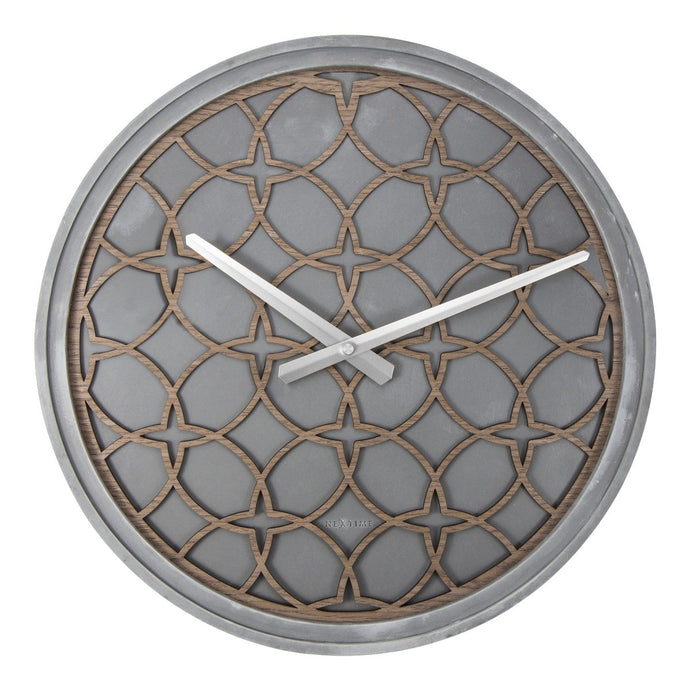 NeXtime Concrete Love Wall Clock