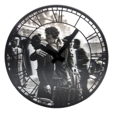 Black and White Paris Wall Clock