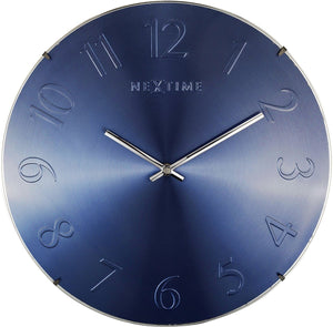 NeXtime Elegant Dome - Blue Metalic