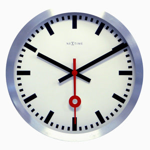 NeXtime Station Wall Clock - Stripe