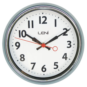 Leni Essential Wall Clock - Slate