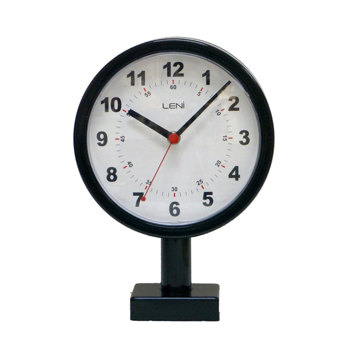 Leni Station Wall Clock - Black
