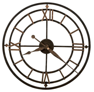 Big Metal York Station Wall Clock