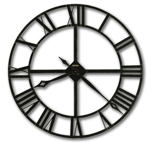 Howard Miller Large Metal Wall Clock - Lacy