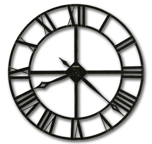 Howard Miller Medium Metal Wall Clock - Lacy II