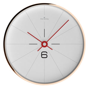 Rose Copper Modern Simple Wall Clock