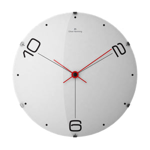 Large Domed Vitri Contemporary Wall Clock