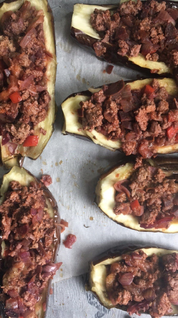 Stuffed Eggplants