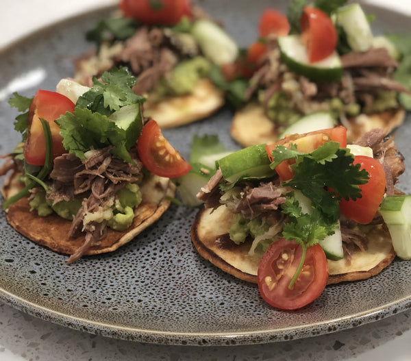 Low Carb Lamb Tortillas
