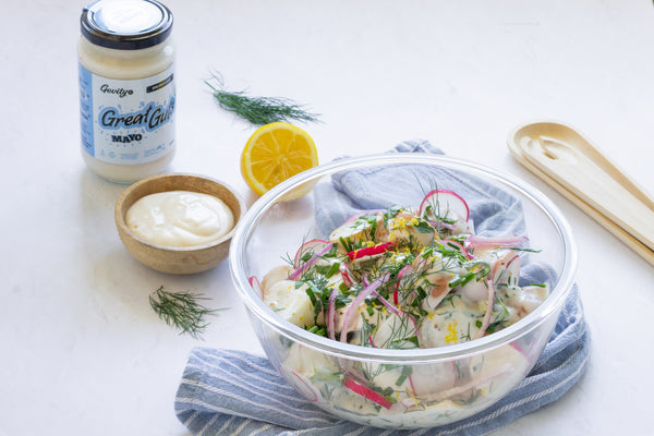 Gut Friendly Summer Potato Salad