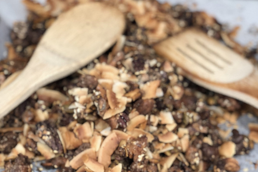 Broth Infused Granola