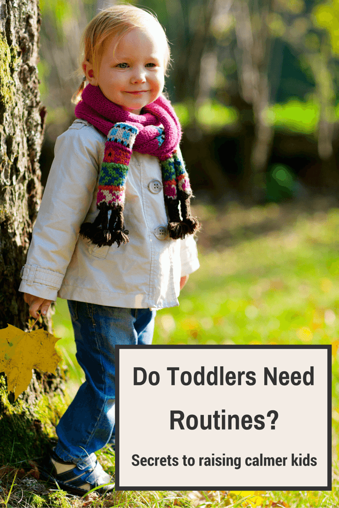 Do Toddlers Need Routine?