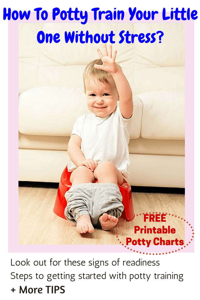 How To Potty Train Your Little One Without Stress?