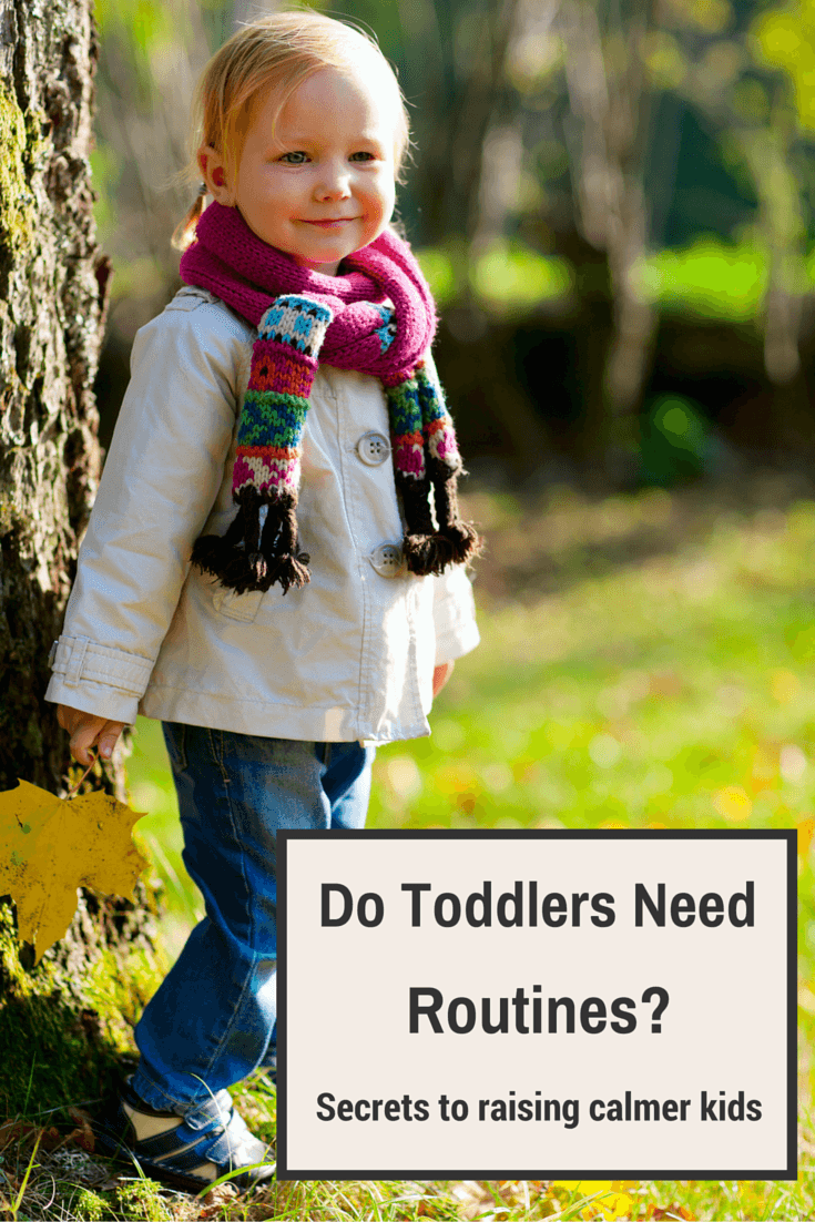 Do Toddlers Need Routine