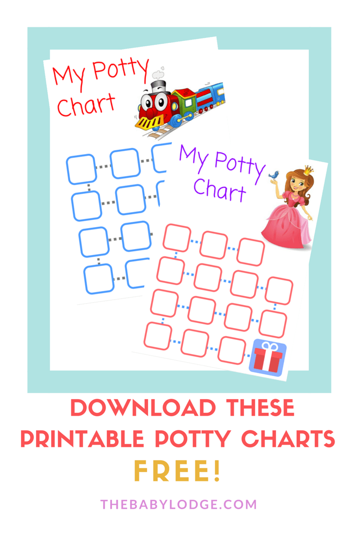download free potty charts