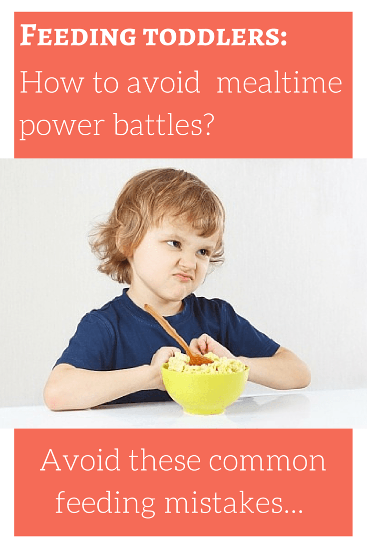 Feeding Toddler - How To Avoid Mealtime Power Battles
