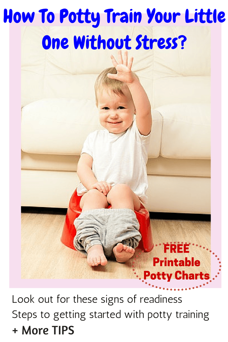 How To Potty Train Your Little One Without Stress