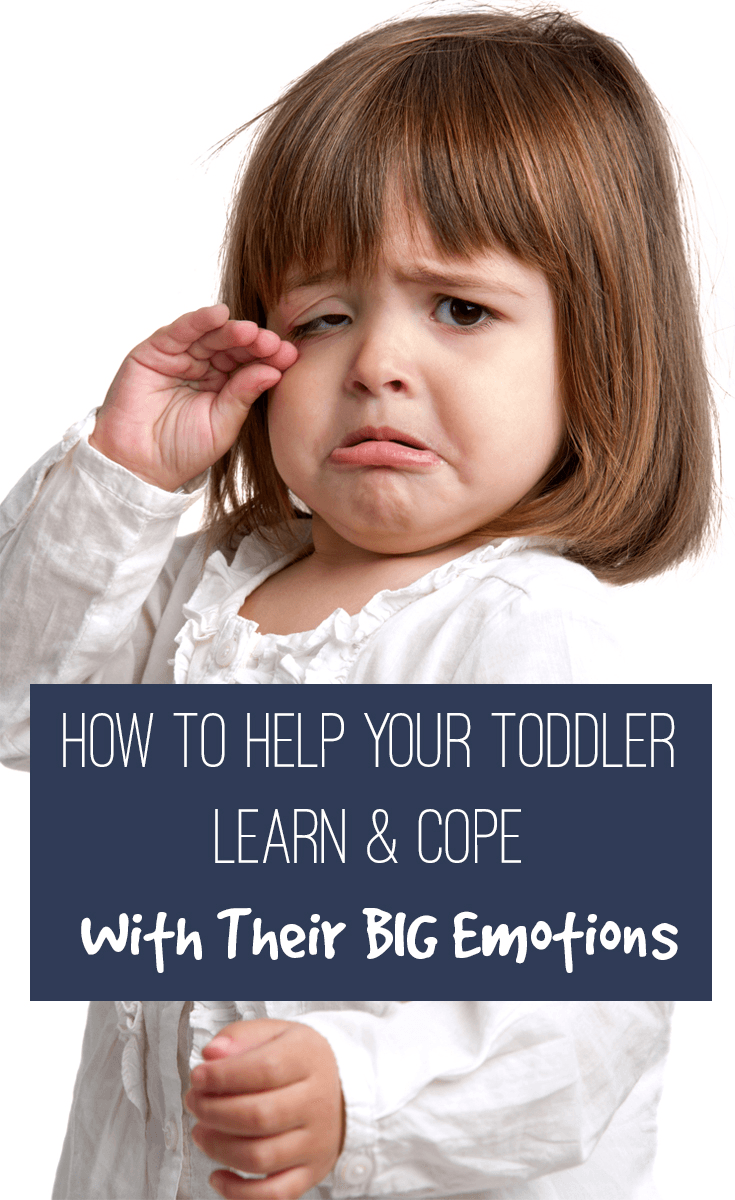 How To Help Your Toddler Learn and Cope With Their Big Emotions