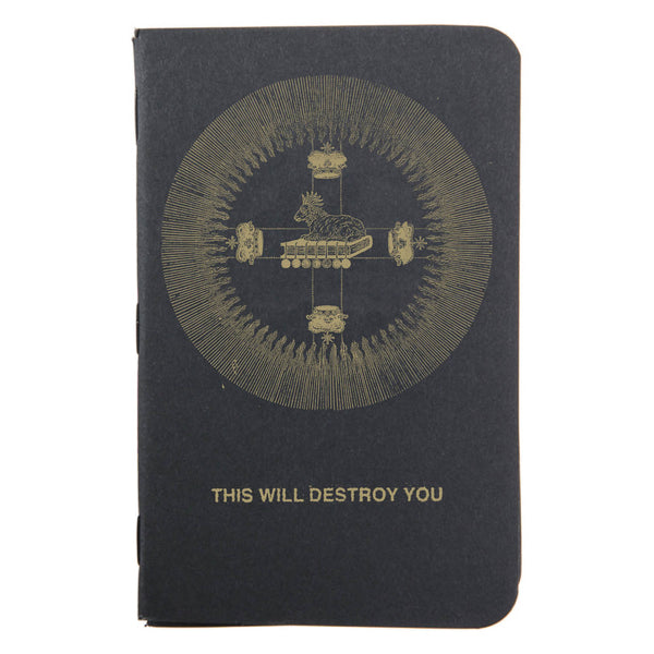 "THIS WILL DESTROY YOU ""S/T"" Limited Edition Pocket Notes"