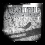 "MAJORITY RULE ""Emergency Numbers"" CD"