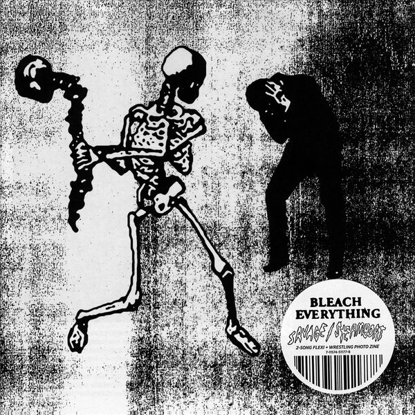 "BLEACH EVERYTHING ""Savage/Steamboat"" X-Ray Flexi + Wrestling Zine"