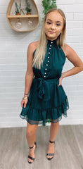 Dreamin Of You Dress - Emerald
