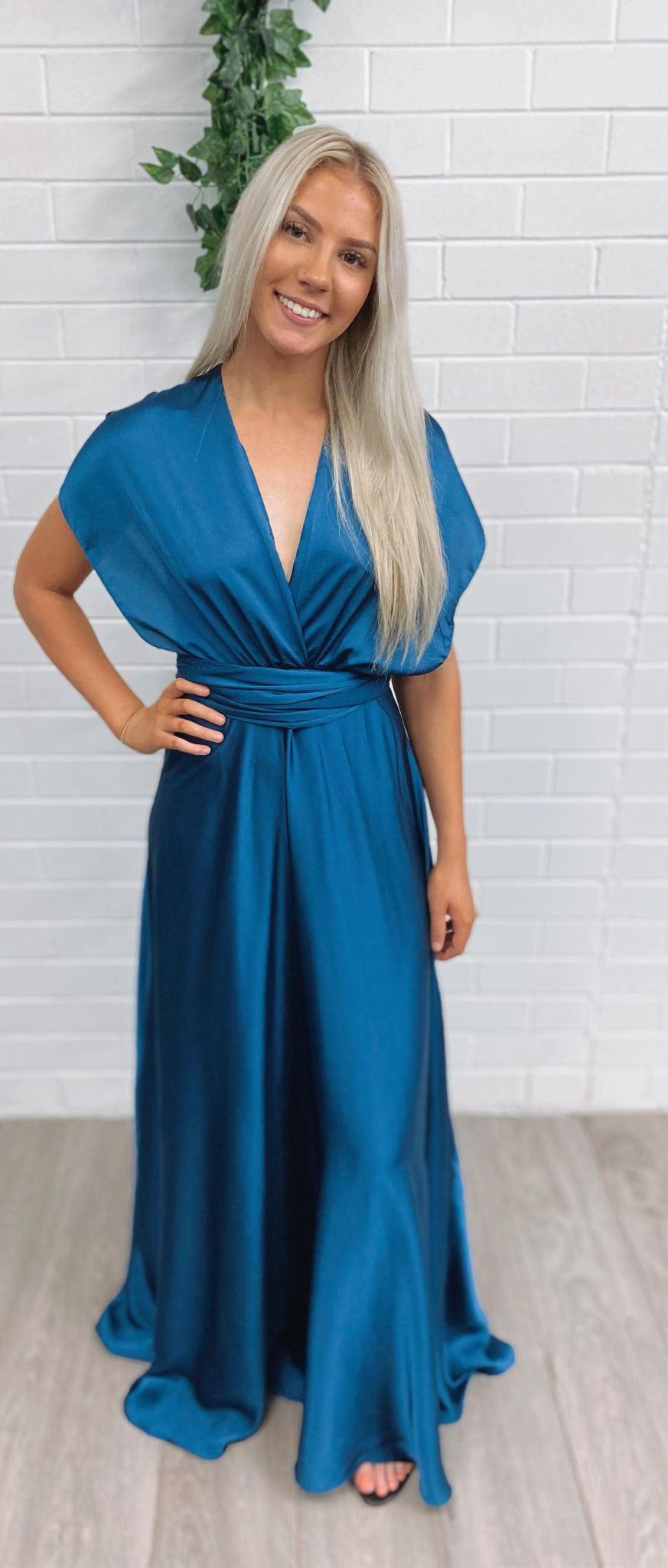 French Pearl Maxi - Navy