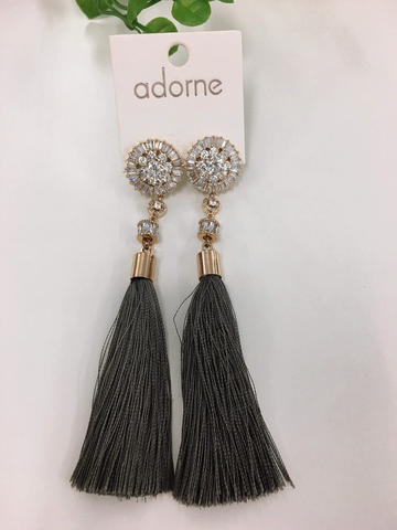 Eyes On You Tassel Earrings