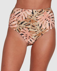 Billabong Hula Palm Hi Retro Bikini Bottom