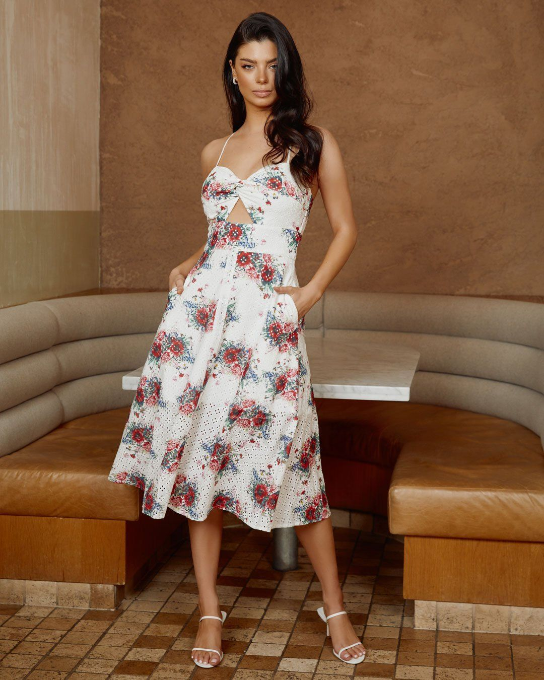 Twosisters The Label Charlotte Dress - Poppy Print