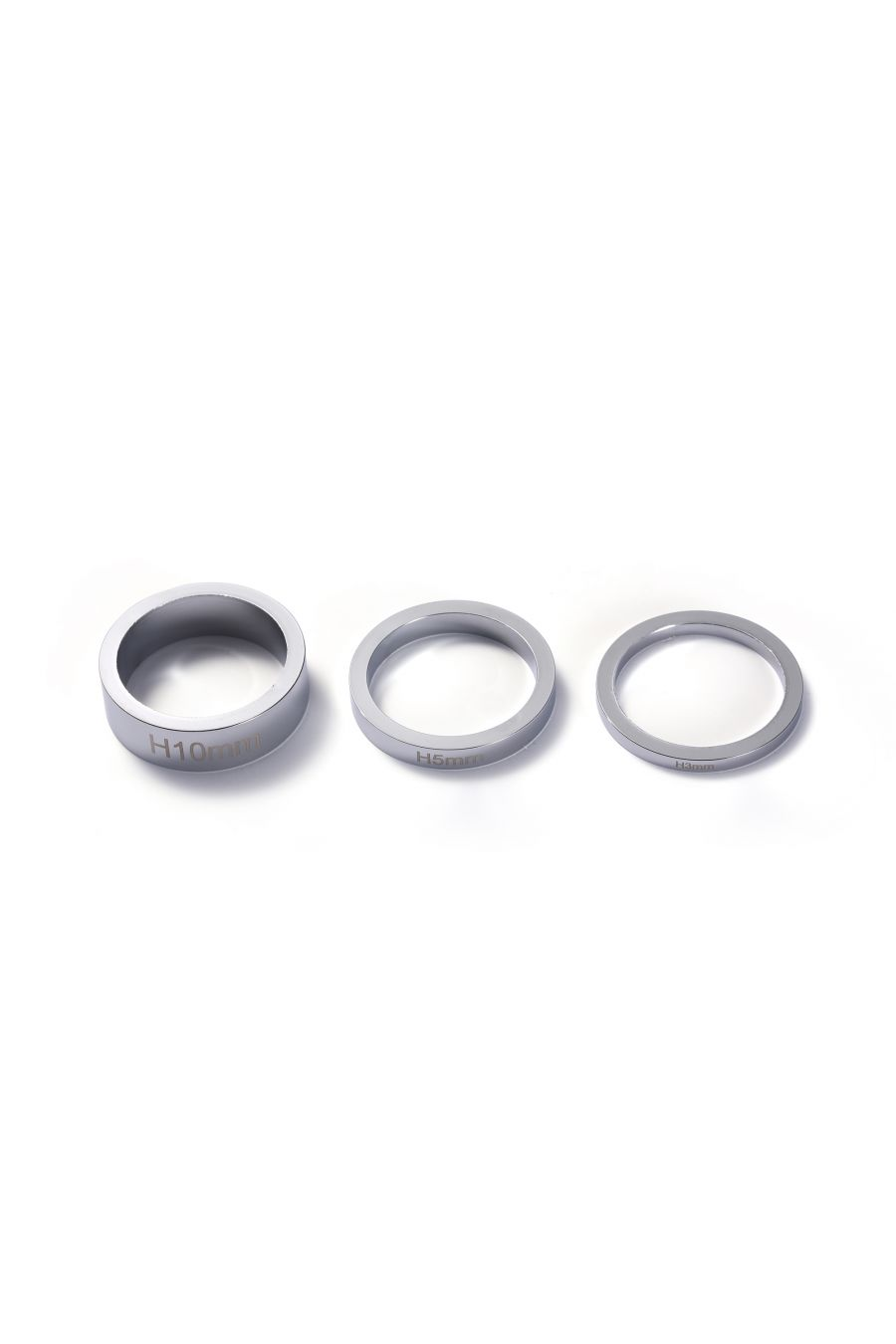 Bar Spacers Chrome 3 Pack 3mm, 5mm , 10mm