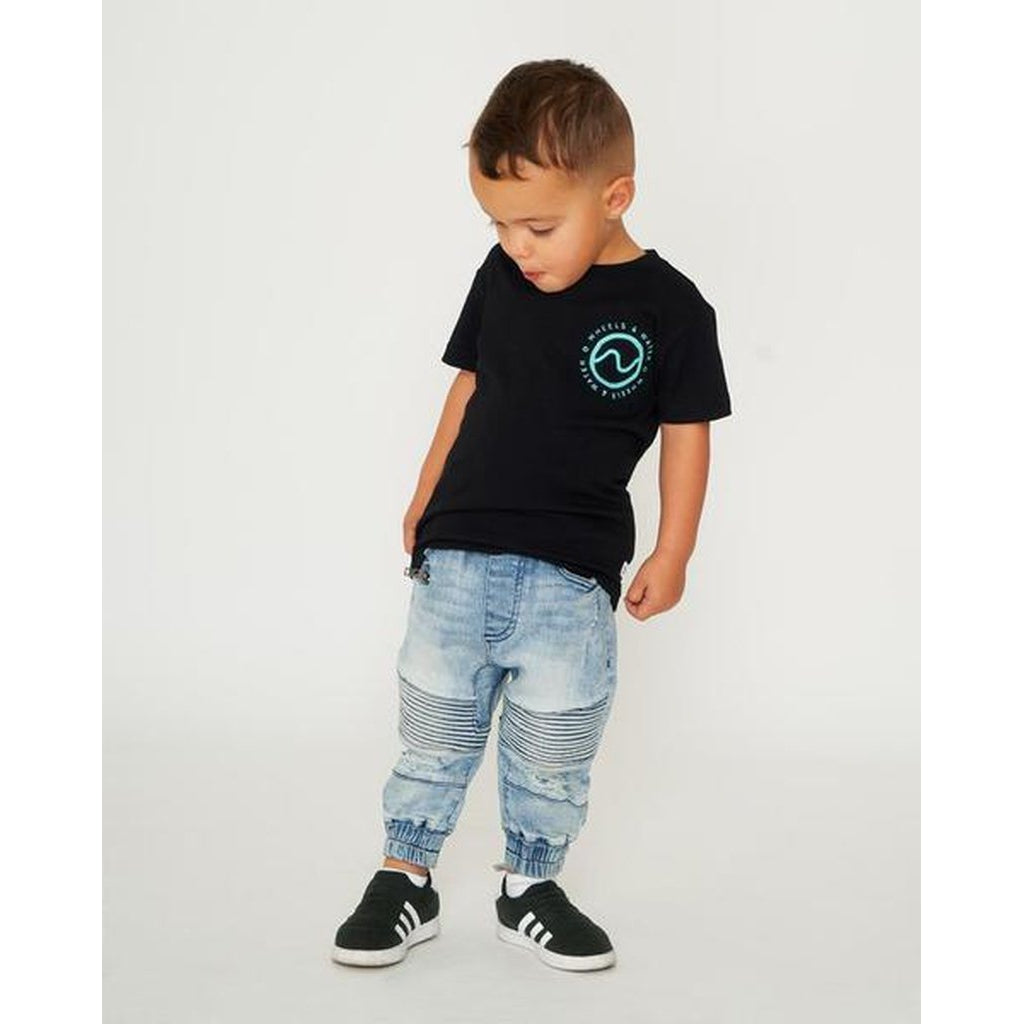 LkI Restore Toddlers Tee | Black