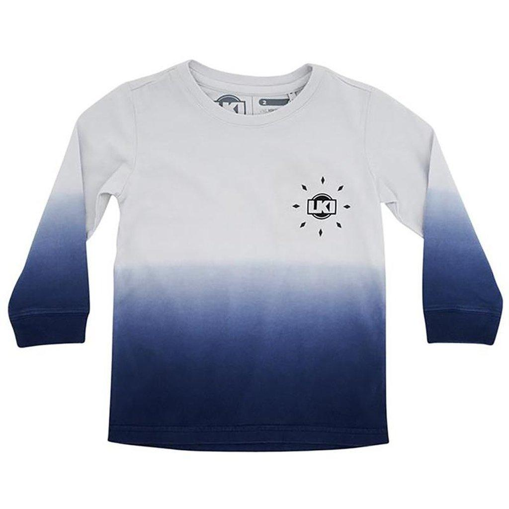 LKI Intergrated Long Sleeve Toddlers Navy Fade
