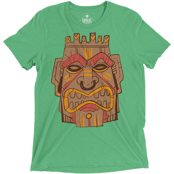 Wooden Tribal Tiki Mask