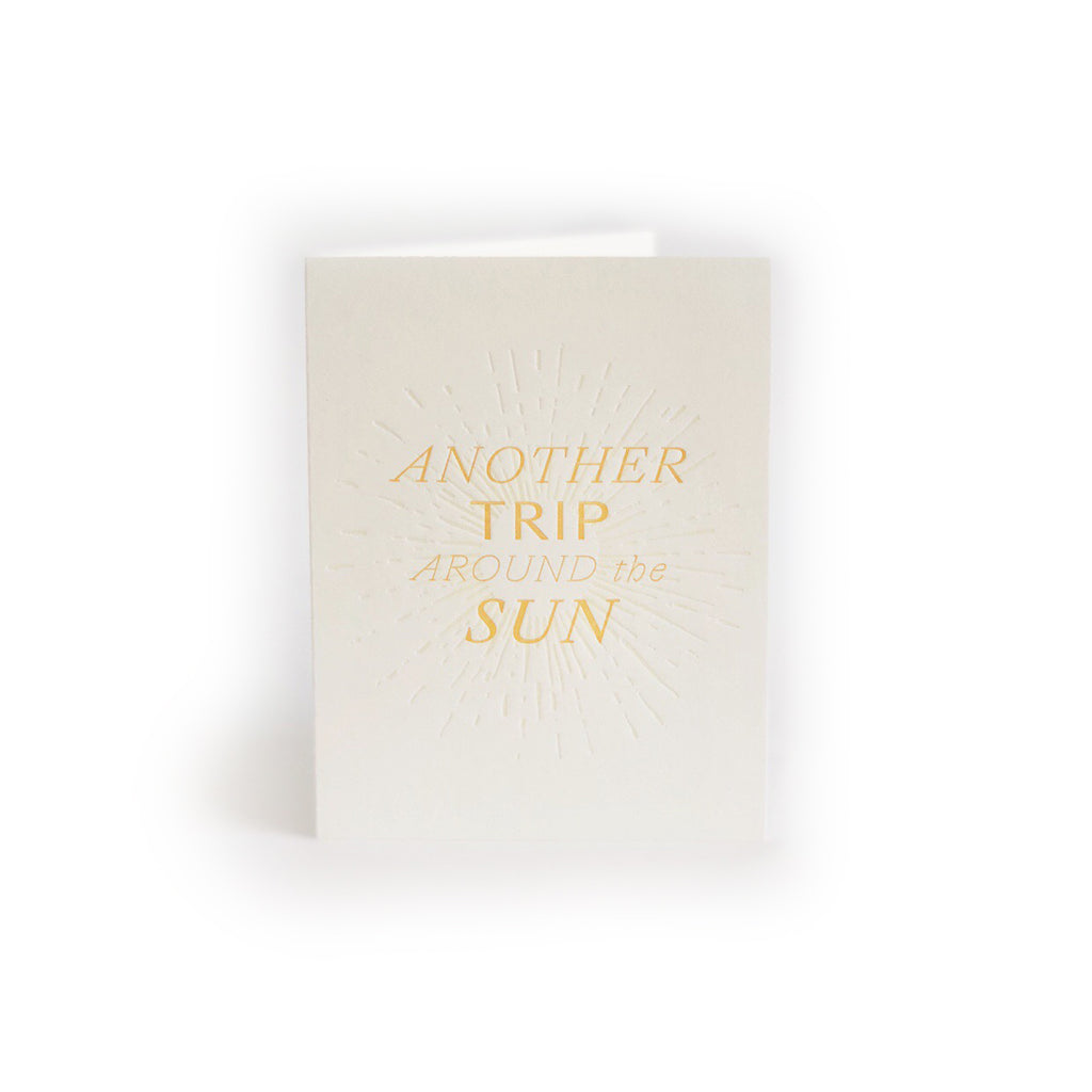Another Trip Around the Sun greeting card