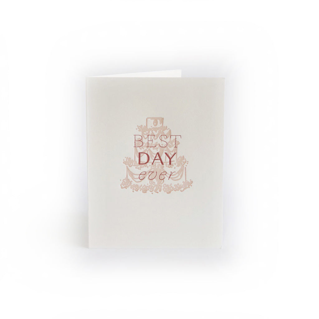Best Day Ever greeting card