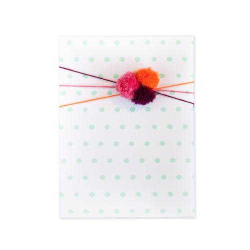 Dots mint Gift Wrap