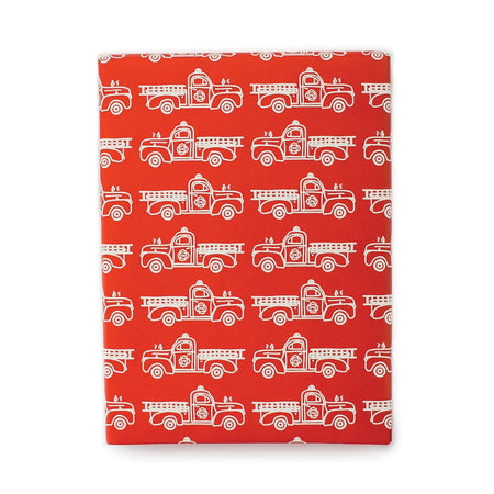 Firetrucks Gift Wrap Roll