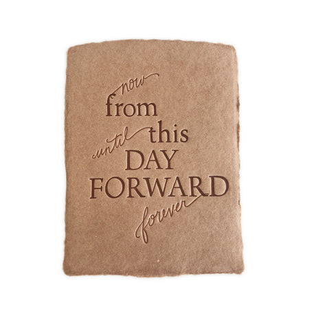 From This Day Forward greeting card