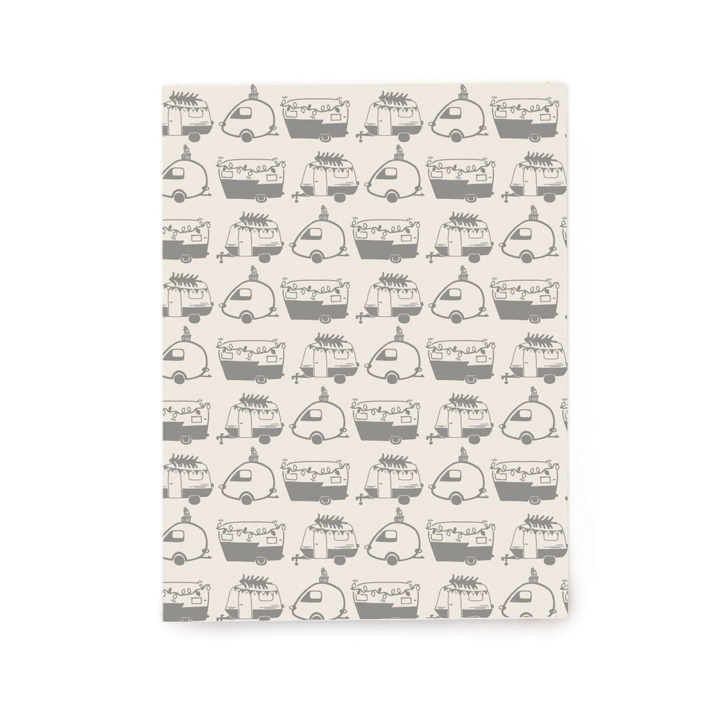 Holiday Campers Gift Wrap Rolls