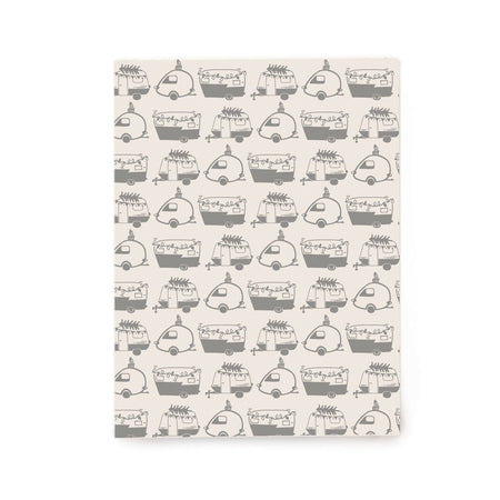Holiday Campers Gift Wrap